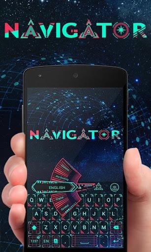 Navigator GO Keyboard Theme