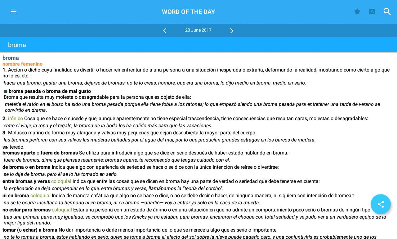 Vox General Spanish Language- screenshot