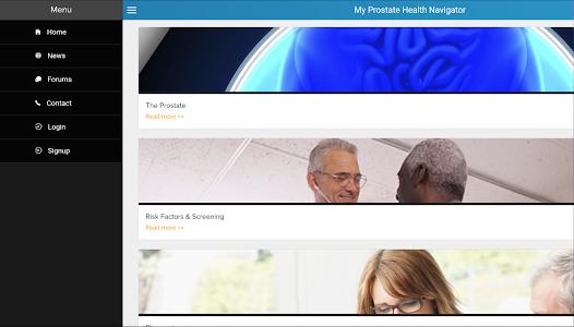 My Prostate Health Navigator screenshot 6