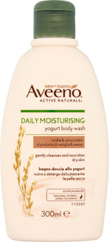 Aveeno Daily Moisturising Yogurt Body Wash - Vanilla & Oat, 300ml