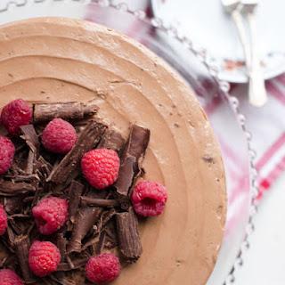 Nutella Birthday Cake