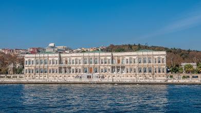 Photo: Ehemaliger Palast am Bosporus, heute Hotel