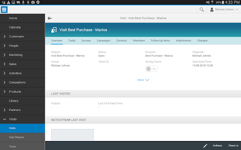 SAP Hybris Cloud for Cust, ext screenshot 2