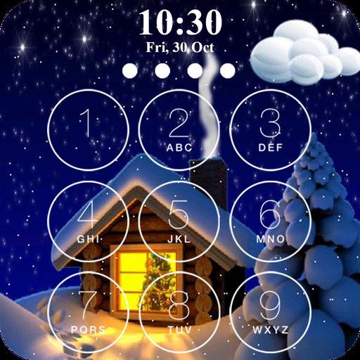 冬のロック画面 個人化 App LOGO-硬是要APP