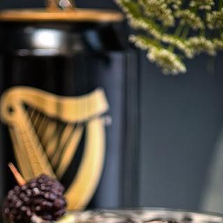 Guinness Black Magic Cocktail.