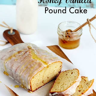 Honey Vanilla Pound Cake.
