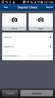 Screenshot of FCBCA Mobile Banking