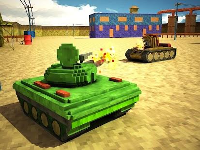 Toon Tank - Craft War Mania- screenshot