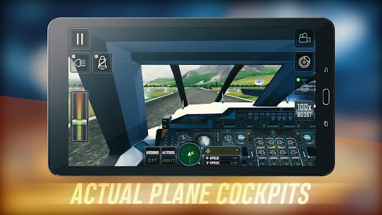 Flight Sim 2018 MOD APK | Flight Sim Unlimited Money APK 3
