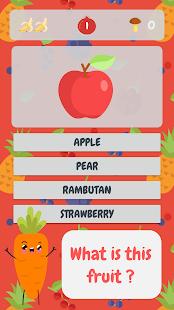 Fruits & Vegetables Quiz - náhled