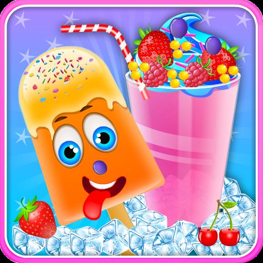 闪亮的甜奶昔店 休閒 App LOGO-硬是要APP