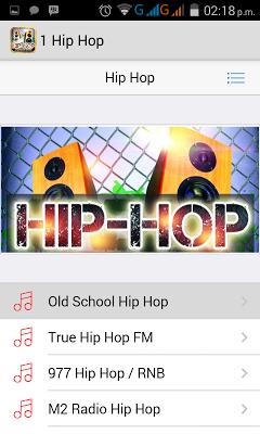 Hip Hop Music and Rap Radios - screenshot