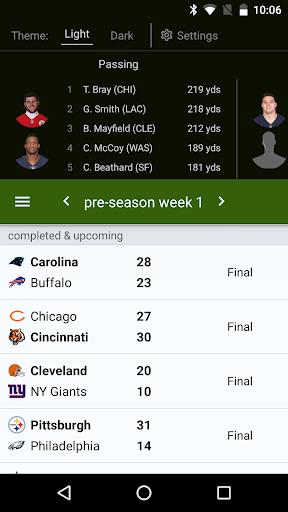 Sports Alerts - NFL edition 2.7.1 screenshots 1