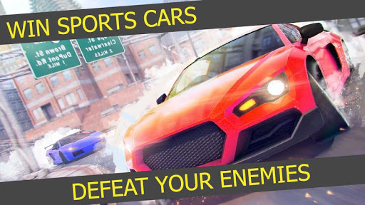 Driving Car vs Free Falling Car Racing Stunts screenshot 4
