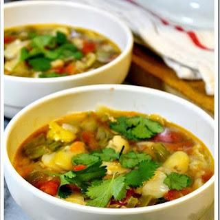 Fava Bean Soup Recipe / Receta de Sopa de Habas