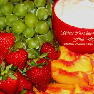 White Chocolate-Orange Fruit Dip