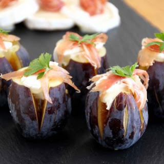 Figs with Goat'S Cheese and JamóN Recipe