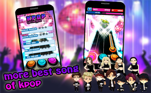 Code Triche K-POP Guitar Hero 2019 APK MOD screenshots 1