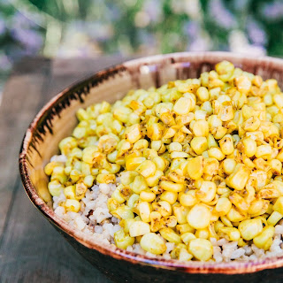 Curried Corn and Coconut Rice.