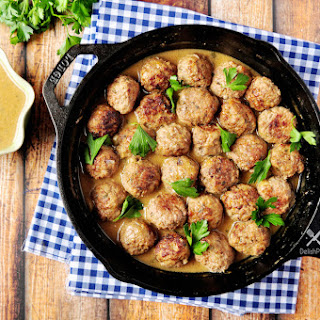 Swedish Meatballs with Gravy