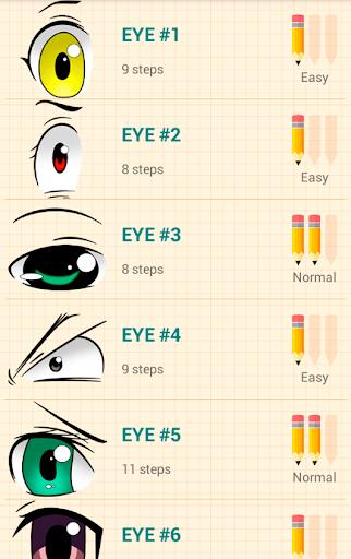 How to Draw Anime Eyes 5.1 Screenshots 1