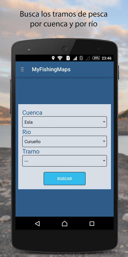 My Fishing Maps-Mapas de Pesca- screenshot