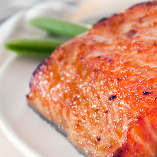Miso Glazed Salmon Recipe with Snap Peas
