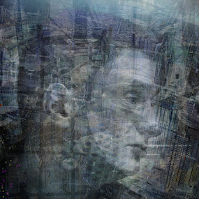 lost in thoughts by Brut Carniollus - Digital Art People ( collage, digital,  )