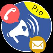 SMS & Call Announcer Pro 2.2.0 Icon