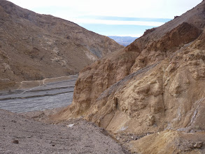 Photo: Mosaic Canyon. In the contact zone.