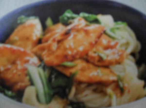 Plum-glazed Chicken Stir-fry