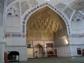 Photo: Bukhara - Bolo Hauz mosque