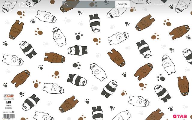 We Bare Bears Wallpapers New Tab Theme