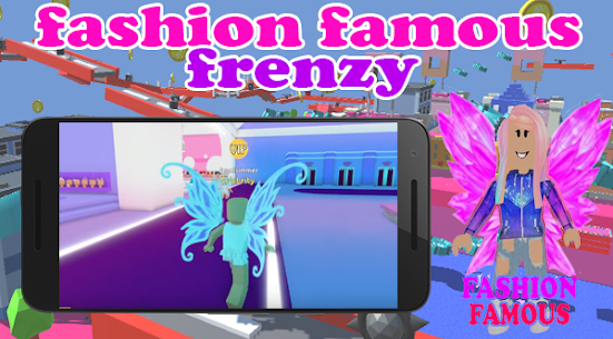 Fashion Famous Frenzy Dress Up Runway Show obby
