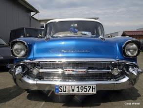Photo: The one and only 1957 Bel Air. Schöner geht's nicht mehr!