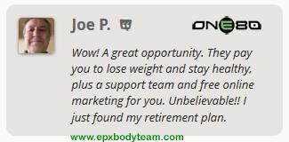 Photo: Real EPX Body Team Member Testimonial - Joe