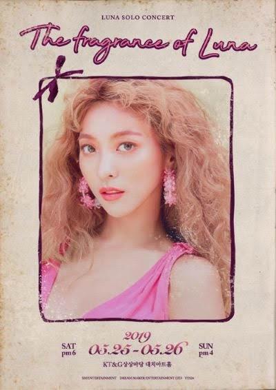 f(x) Luna memiliki konser solo pertamanya