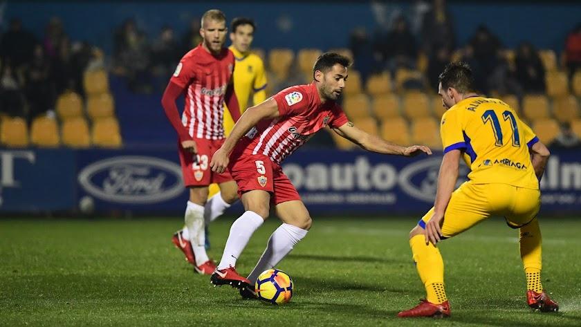 Trujillo y Giménez en el partido de la pasada temporada.