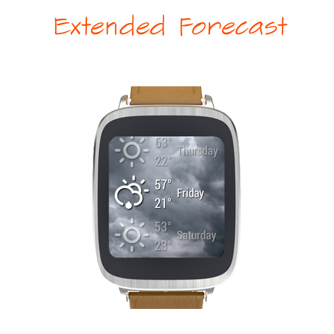Weather Time for Wear  screenshots 6