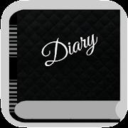 Black Diary - My Dark journal with Secret Lock