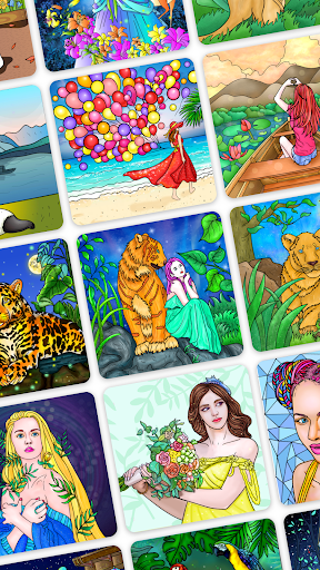 Art Number Coloring - Color by Number Apk 2