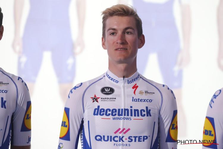 """Alweer dichte ereplaats voor jong Deceuninck-Quick.Step: """"Leeg met 750m te gaan, Sagan en Ulissi passeerden me"""""""