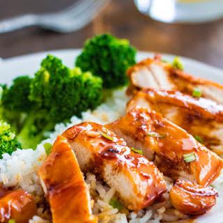 Caramel Chicken.