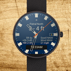 download Surface Surf Watch Face apk
