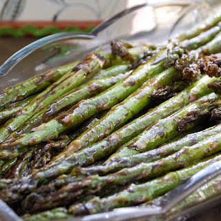 Roasted Asparagus with Balsamic Orange Glaze.