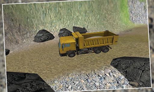 Modern Transport Truck driver