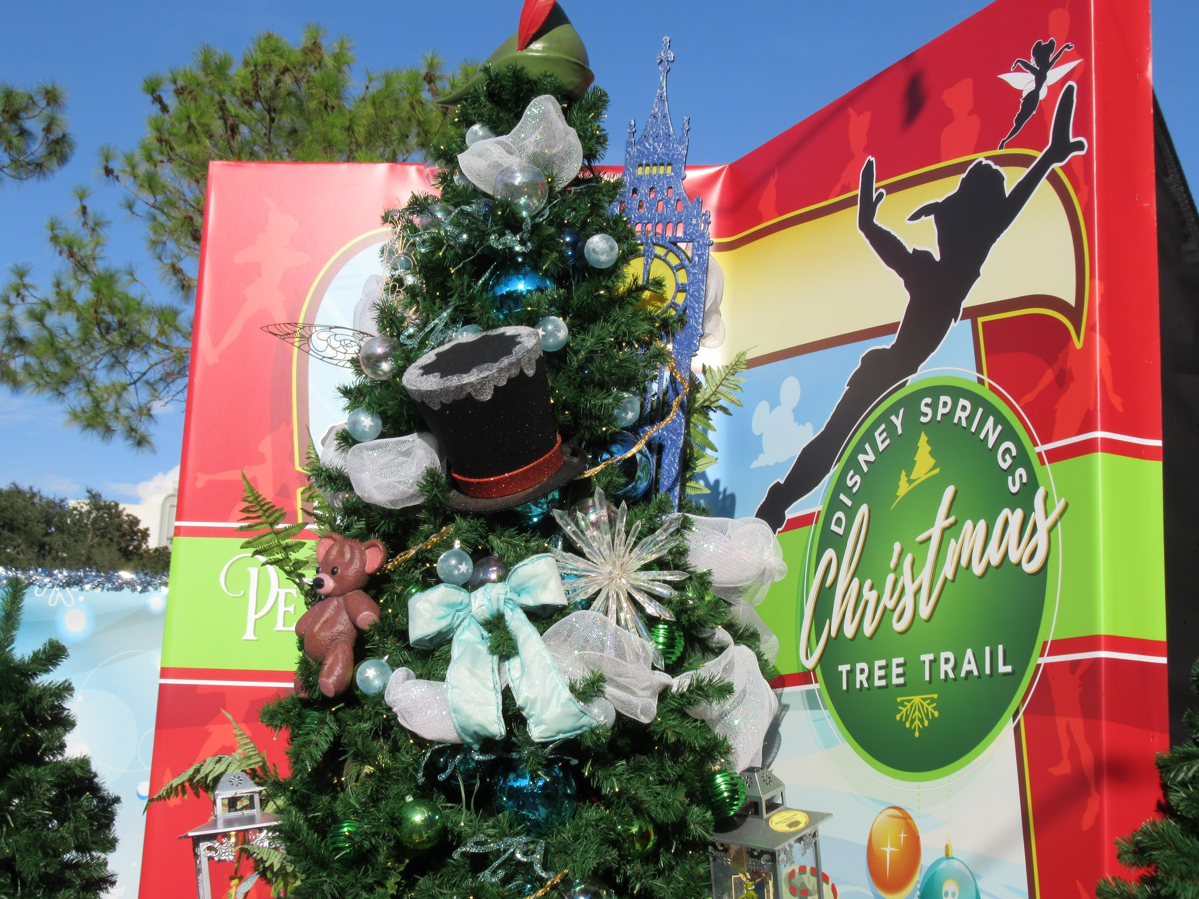 If you are at Disney World in December, make sure you stop by Disney Springs to enjoy the Disney Springs Christmas Tree Trail and other fun, festive experiences!