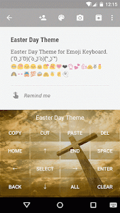 Easter Day Emoji Keyboard screenshot 2