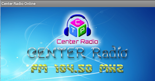Center Radio For Tablet