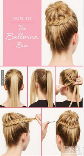 Model Rambut Kepang Sederhana